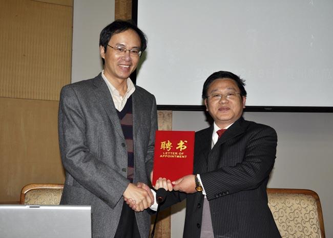 """刘海峰做客山海风流""""为科举正名""""图片"""